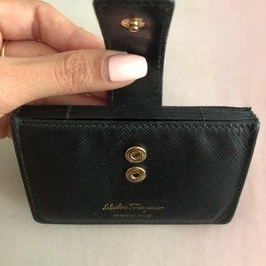 Salvatore Ferragamo Accessories - Salvatore Ferragamo Black Card Holders